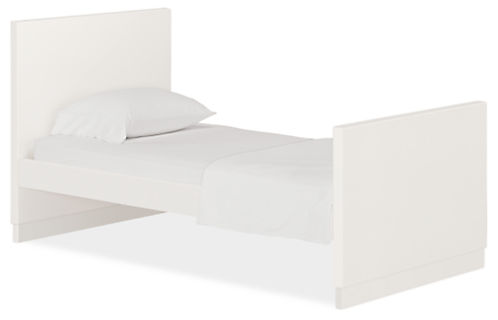 Moda Twin Bed With High Footboard