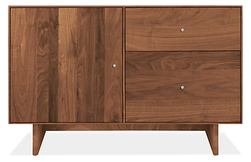Hudson File Cabinets With Wood Base Modern Storage Office Furniture Room Board