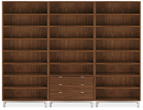 Copenhagen 108w 14d 82h Three-Drawer Wall Unit
