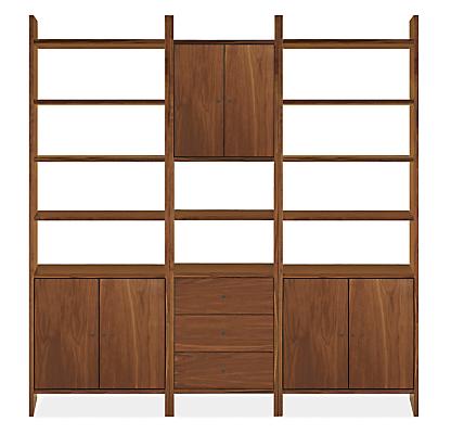 Addison Modern Wall Units - Modern Bookcases & Shelves - Modern ...
