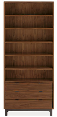Copenhagen 36w 14d 82h Three-Drawer Bookcase