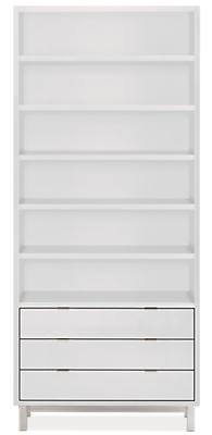 Copenhagen 36w 14d 82h Three-Drawer Bookcase