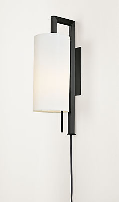Leslie Plug-In Wall Sconce