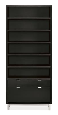 Copenhagen 36w 14d 82h One-File-Drawer Bookcase