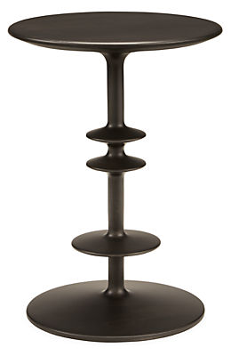 Parks 14 diam 19h Round End Table