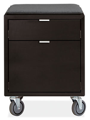 Copenhagen Office File Cabinet With Cushion Benching Systems Modern Furniture Room Board