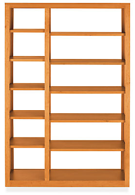 Woodwind 48w 17d 72h Double Open-Back Bookcase