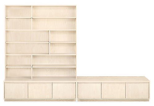 Keaton 120w 18d 80h Wall Unit