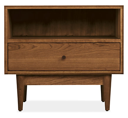 Grove 26w 18d 23h One-Drawer Nightstand