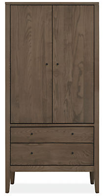 Calvin Modern Armoire - Modern Armoires - Modern Bedroom Furniture ...