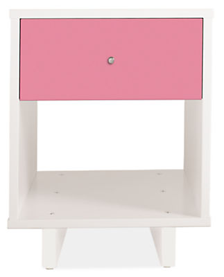 Moda 18w 19d 22h One-Drawer Nightstand