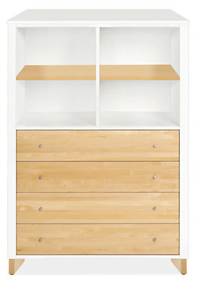 Moda Loft 42w 19d 58h Four-Drawer Dresser