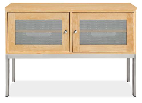 Linear 42w 18d 29h Two-Door Media Cabinet