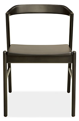 Jansen Side Chair with Wood Seat