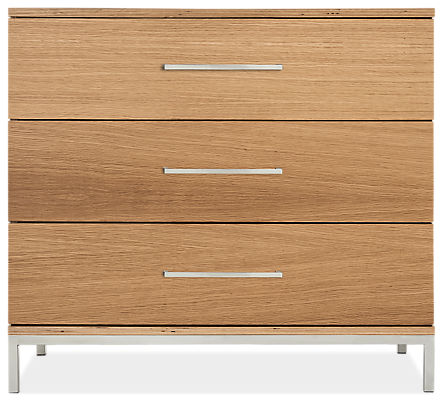 Baker 33w 19d 29h Three-Drawer Dresser