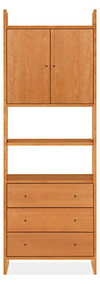 Addison 30w 15d 84h Two-Door/Three-Drawer Bookcase