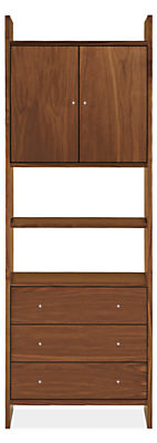 Addison 30w 15d 84h Two-Door/Three-Drawer Bookcase