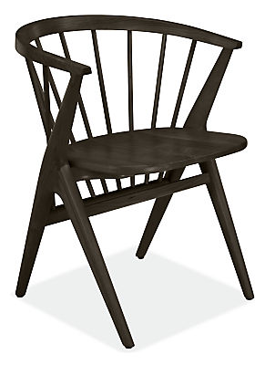Soren Arm Chair with Wood Seat