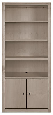 Woodwind 32w 17d 72h Two-Door Bookcase