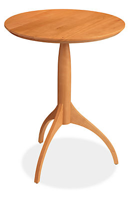 Adams 18 diam 23h Round End Table