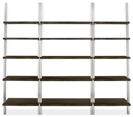 Gallery 94w 14d 85h Leaning Shelf Wall Unit