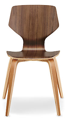 Pike Side Chair with Wood Base
