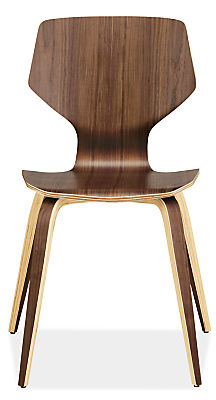 Pike Modern Wood Base Chair - Modern Dining Chairs - Modern Dining ...