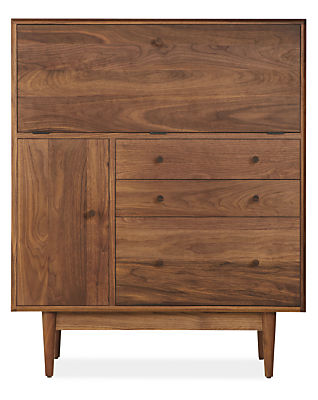 Grove Modern Office Armoire - Modern Desks & Tables ...