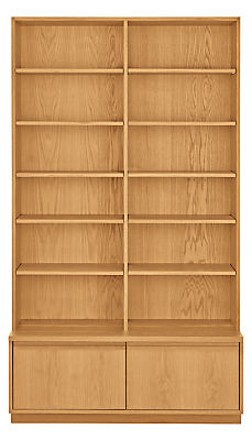 Keaton 45w 18d 80h Two File Drawer Bookcase