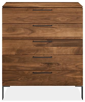 Kenwood 42w 20d 49h Five-Drawer Dresser
