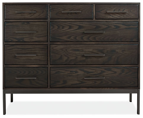 Alden 49w 20d 41h Nine-Drawer Dresser