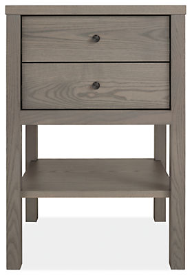 Emerson 19w 20d 28h Two-Drawer Nightstand