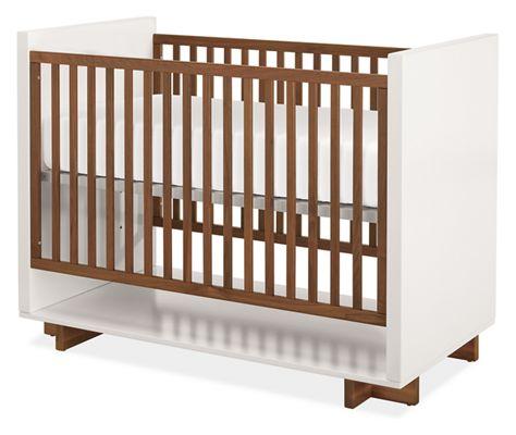 Moda Modern Nursery Crib Modern Cribs Modern Kids Furniture