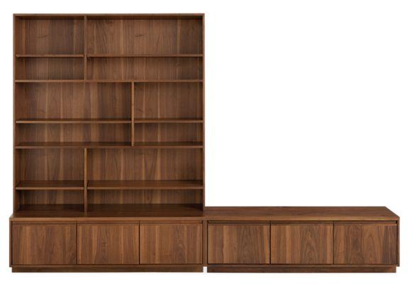 Keaton Bookcase Wall Units