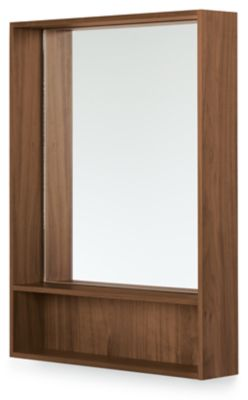 Durant Wall Mirror With Shelf