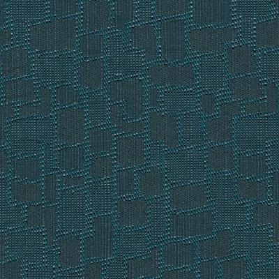 geo teal fabric