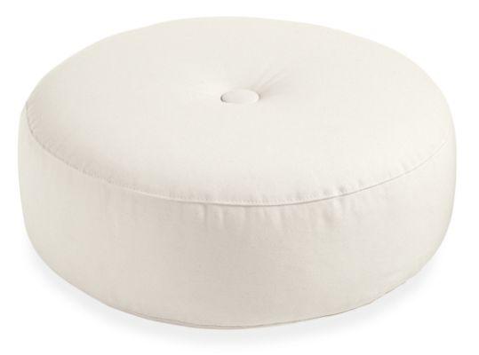 Custom 24r 9h Button Floor Throw Pillow