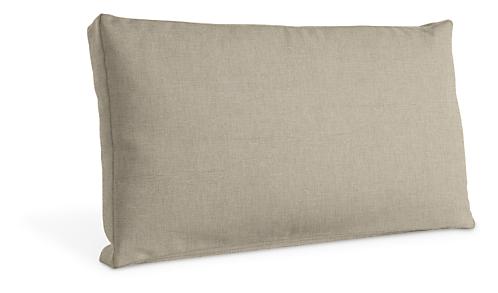 Custom 26w 15h Box Edge Throw Pillow