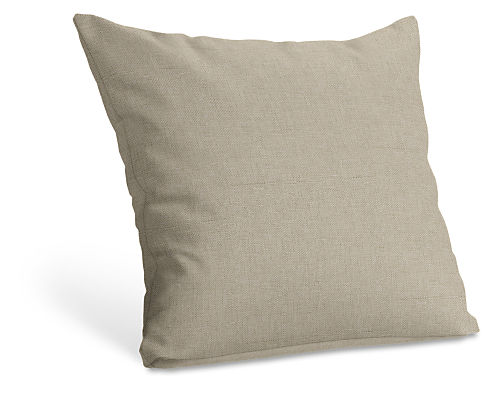 Custom 21w 21h Knife Edge Throw Pillow