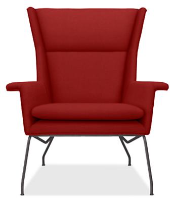 Aidan Chair & Ottoman - Modern Accent & Lounge Chairs - Modern ...