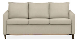 "Allston Custom Slope Arm 76"" QP Sleeper Sofa"