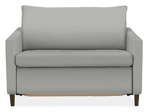 Allston Thin Arm Twin Sleeper Chair
