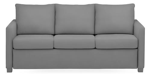 "Allston Custom Slope Arm 76"" QP Sleeper Sofa"
