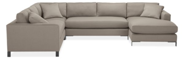 """Altura 148x114"""" Four-Piece Sectional with Left-Arm Chaise"""