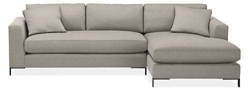 """Altura 114"""" Sofa with Right-Arm Chaise"""