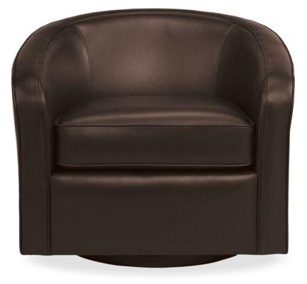 Amos Custom Swivel Chair