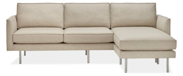 """Anderson 91"""" Sofa with Reversible Chaise"""