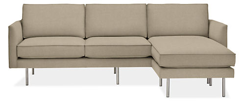 Anderson Sofa With Reversible Chaise Sofas Modern Living Room Furniture Board