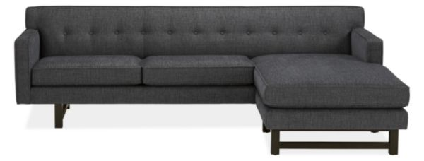 """André 101"""" Sofa with Reversible Chaise"""