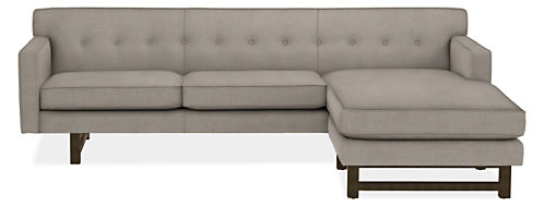 "Andre 101"" Sofa with Reversible Chaise"